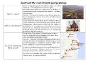 English Worksheet: The trail of Saint George Bishop of Suelli