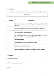 English Worksheet: Spiderman Far From Home Worksheet 2