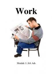 English Worksheet: Words That Work Module 1: Job Ads