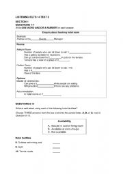 English worksheet: Gerente de branch