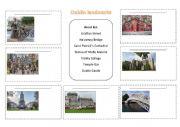 English Worksheet: Landmarks of Dublin