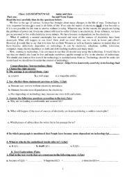 Second Term Exam