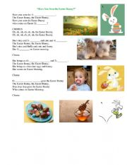 English Worksheet: Easter Bunny