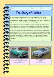 The Story of Holden - Part 2