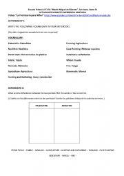 English Worksheet: Prehistory
