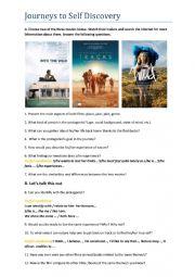 English Worksheet: Movie worksheet: Into the Wild, Tracks, Wild