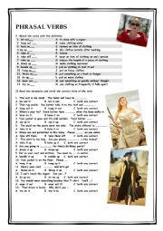 Clothes & Phrasal Verbs