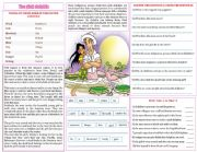 English Worksheet: the pink dolphin legend