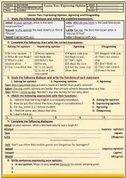 English Worksheet: FUNCTIONAL PRACTICE