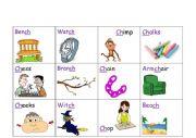 English worksheet: CH diagraph part 2