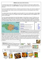 English Worksheet: Learning about Jamaica