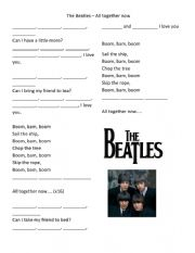 All Together Now by Beatles