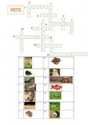 Crosswords pets