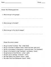 English worksheet: comperatives