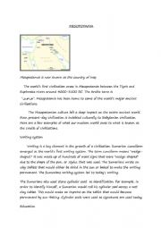 mesopotamia and its civilizations