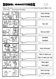 English worksheet: beginner