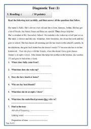 Diagnostic Test 1