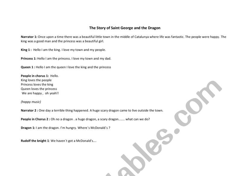 The story of Saint George and the Dragon by Noreen O�Donnell