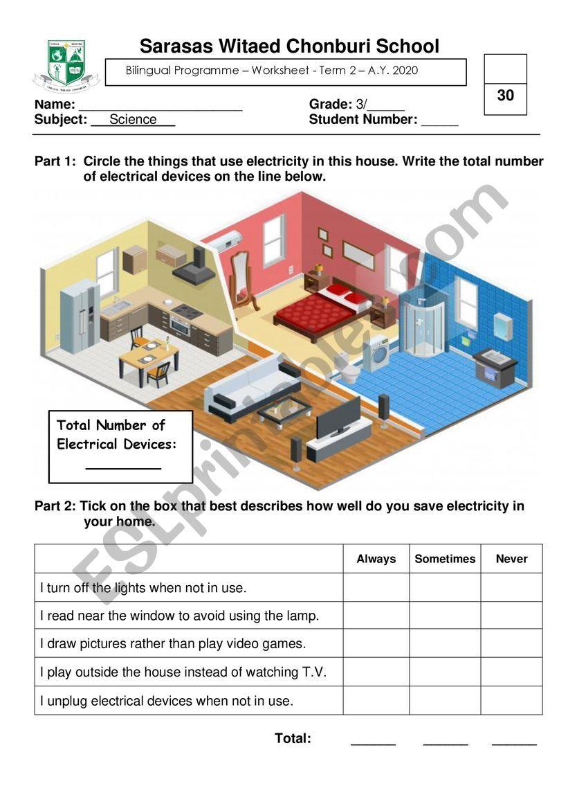 social worksheet