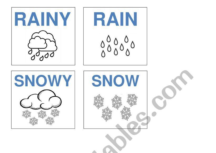 weather game worksheet