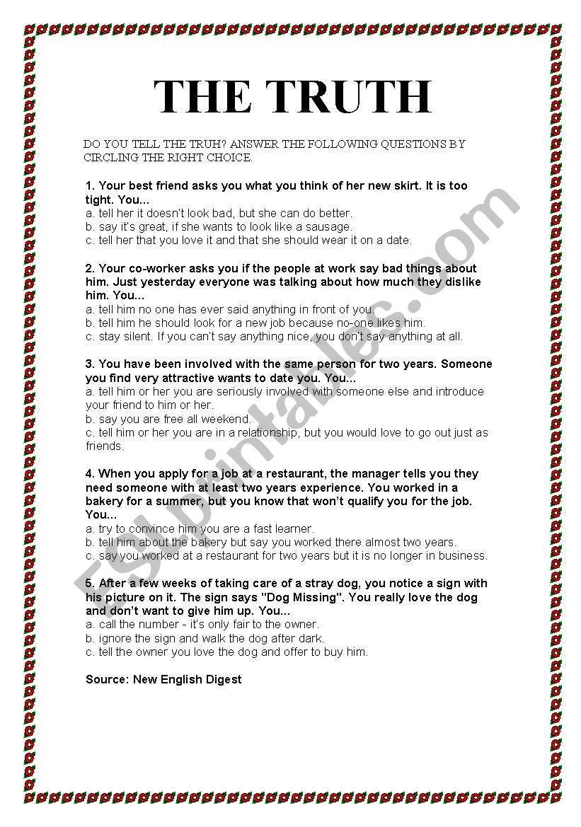 Questionaire - ESL worksheet by fabioalexandre