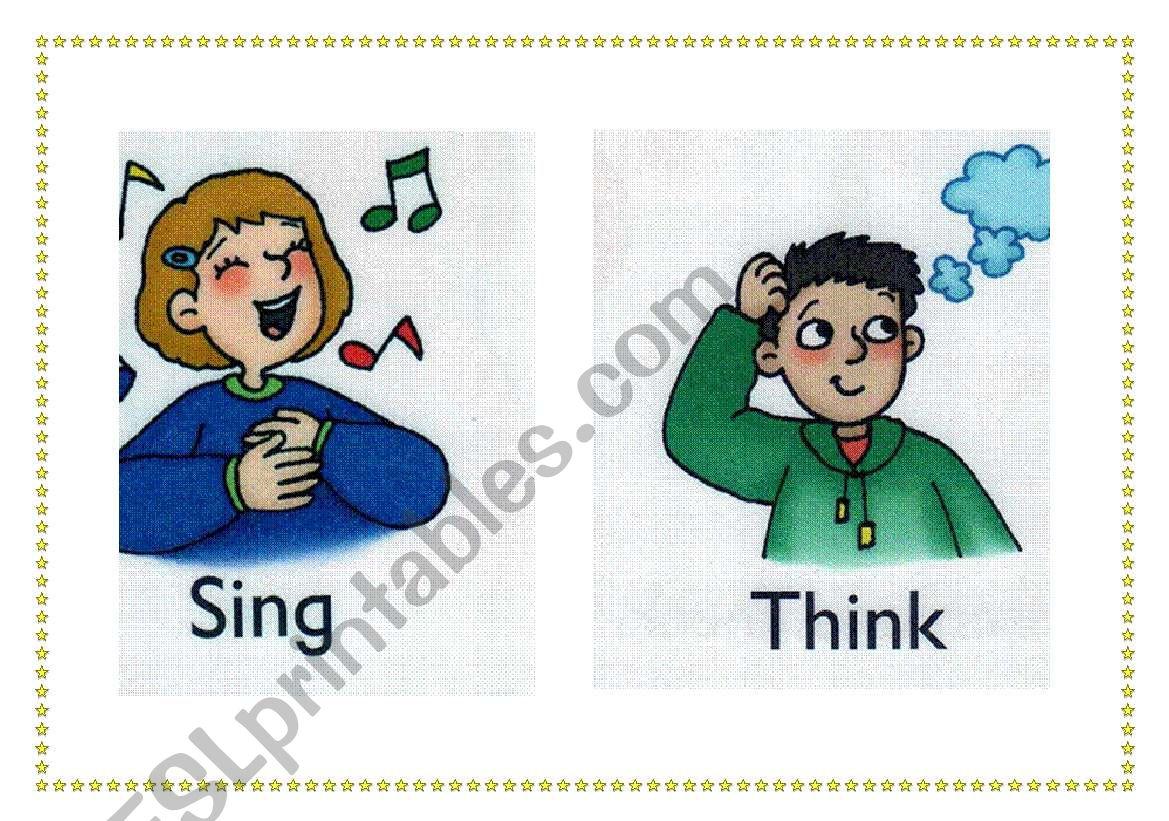 classroom flashcards 2 worksheet