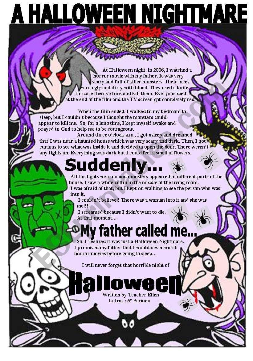 A Halloween Nightmare ( Reading )