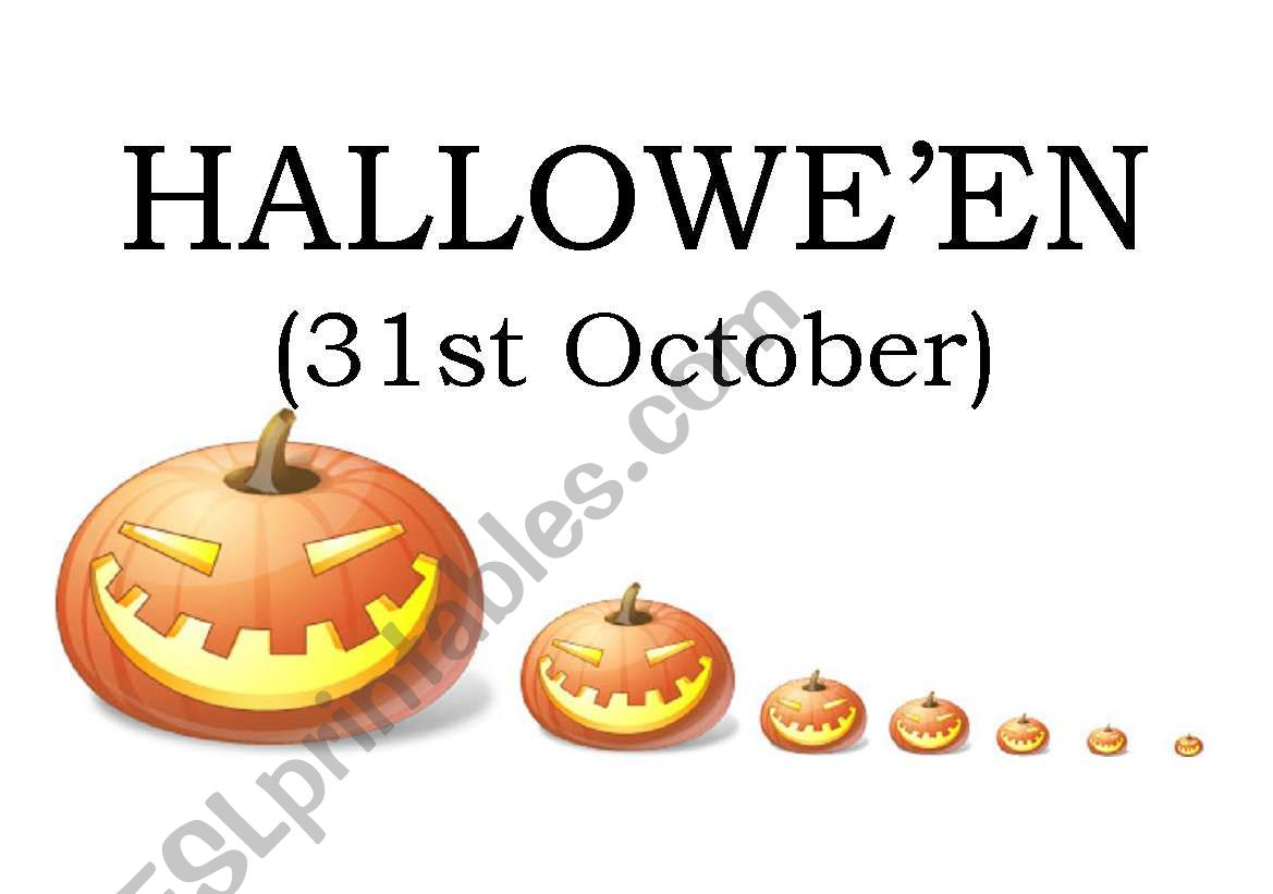 halloween short article on your noticeboard