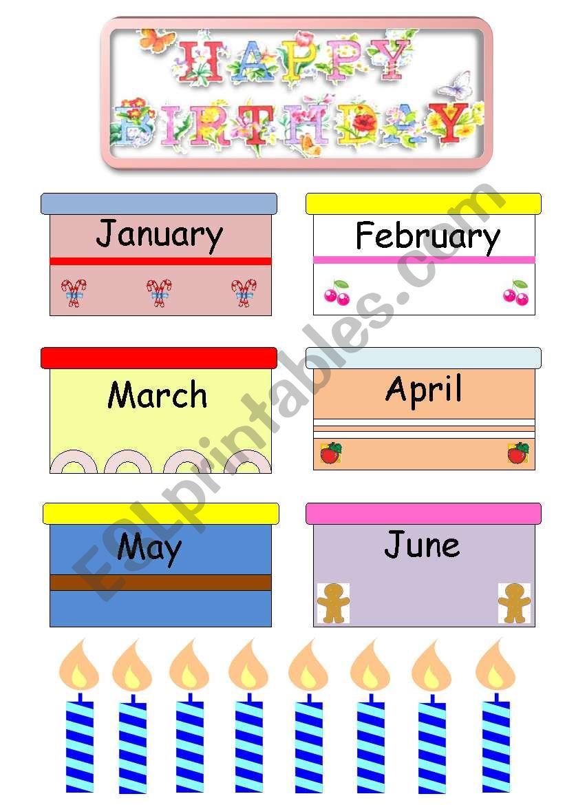 Bulletin board set / 1 worksheet