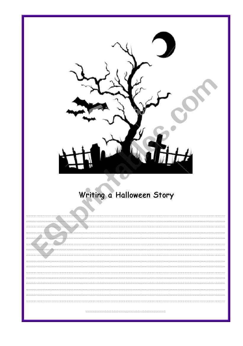 Halloween-card 7 worksheet
