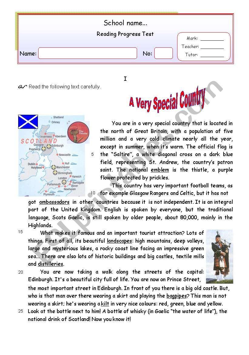 A very special country (Scotland)