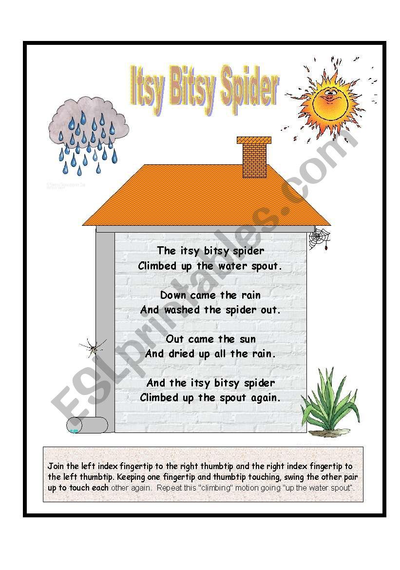 Nursery Rhymes - Itsy Bitsy Spider