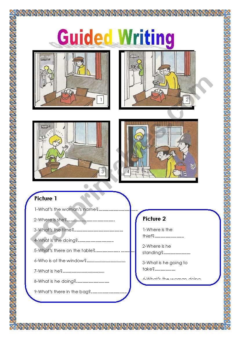 Guided writing Nº 2 worksheet