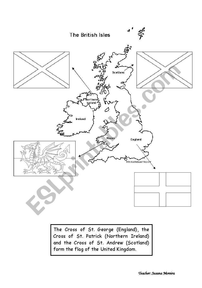 The Union Jack worksheet