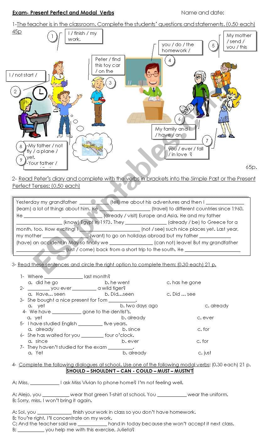 Present perfect vs Simple past in context