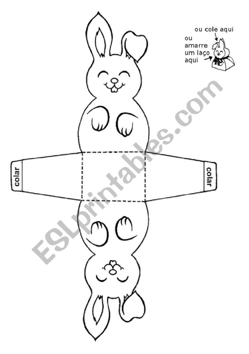 worksheet Puppet Worksheet english worksheets finger puppet easter worksheet