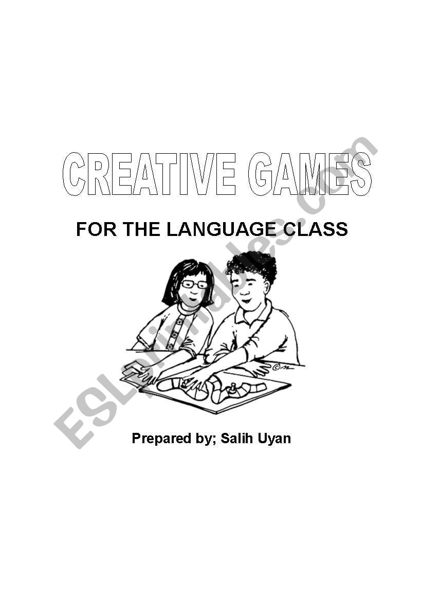 Creative Games for the Language Class