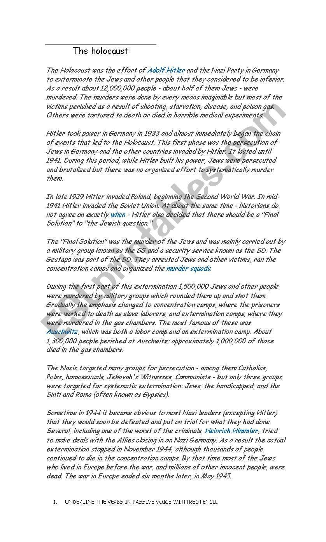 Holocaust Reading Comprehension Worksheet Nidecmege [ 1389 x 838 Pixel ]