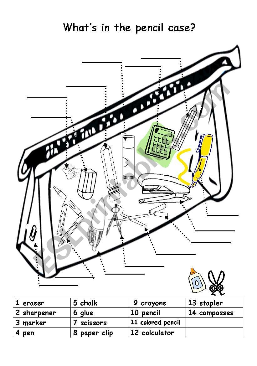 Worksheet Works Pencil Check : Pencil case theres a similar one on my prints
