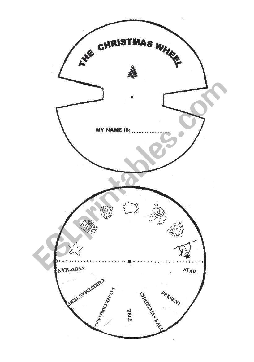 It is a photo of Star Wheel Printable regarding southern star