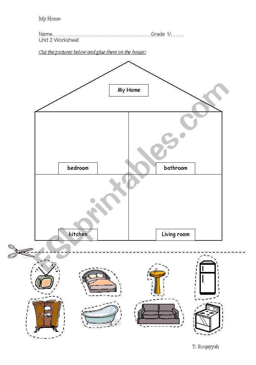 My home worksheet