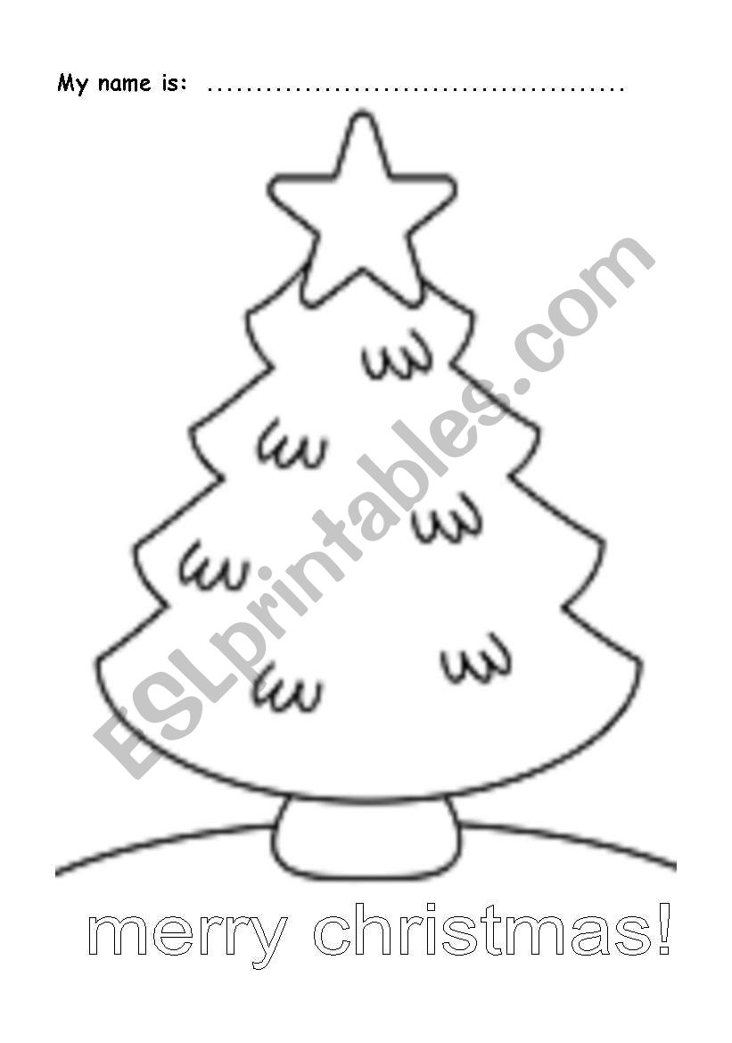 Draw your ornaments worksheet