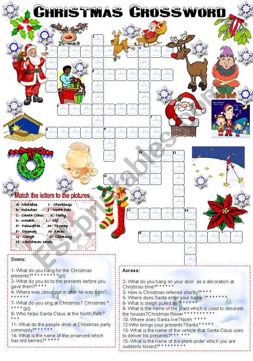 Christmas crossword (05.12.2008)