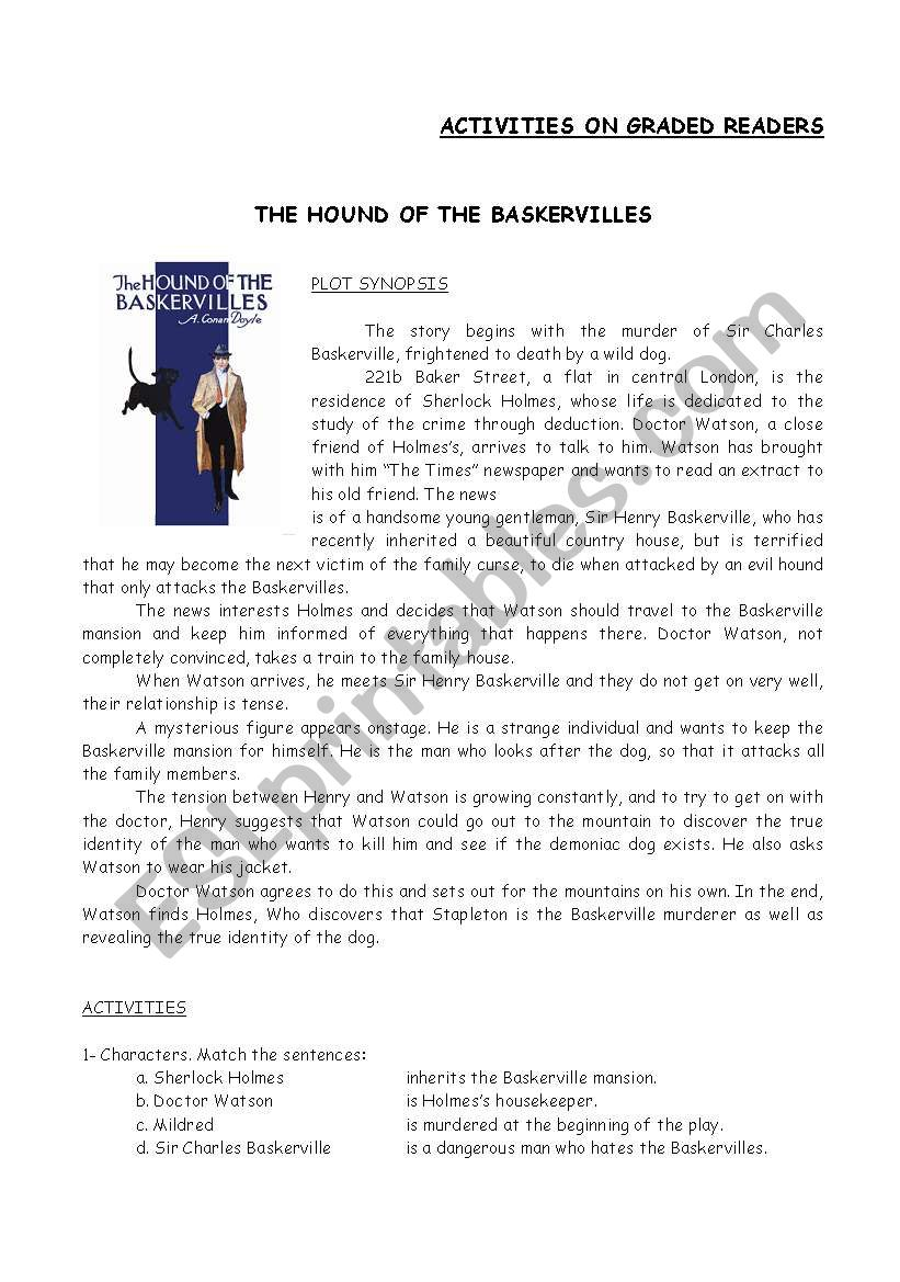 Graded Readers The hound of the Baskervilles