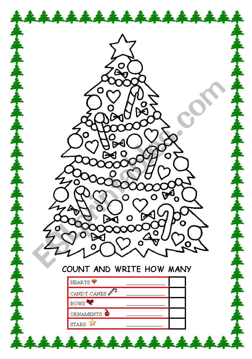 Count and Write worksheet