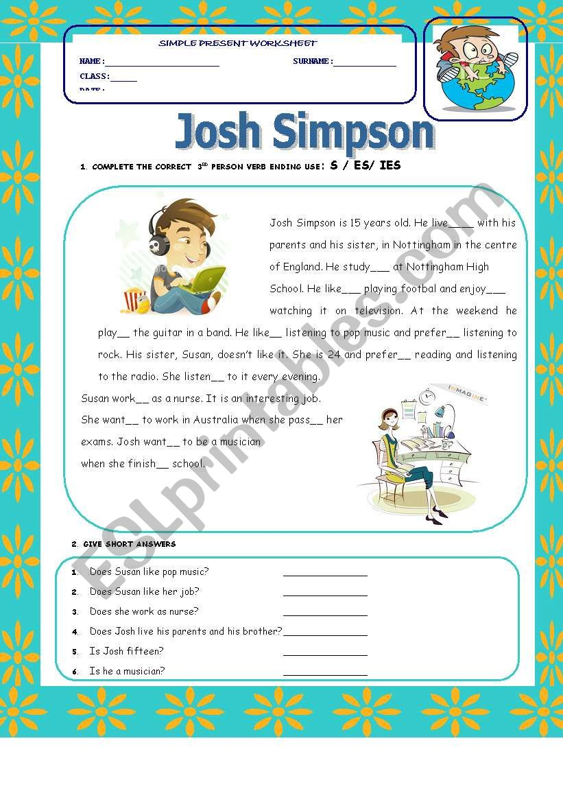 Reading Time worksheet