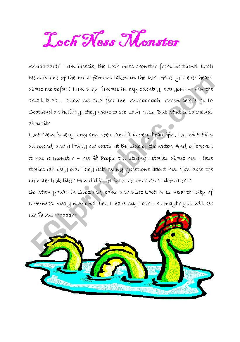 Nessie - The Loch Ness Monster