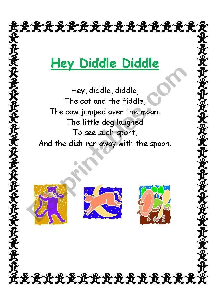 Nursery Rhymes, Songs and Poems 2/4