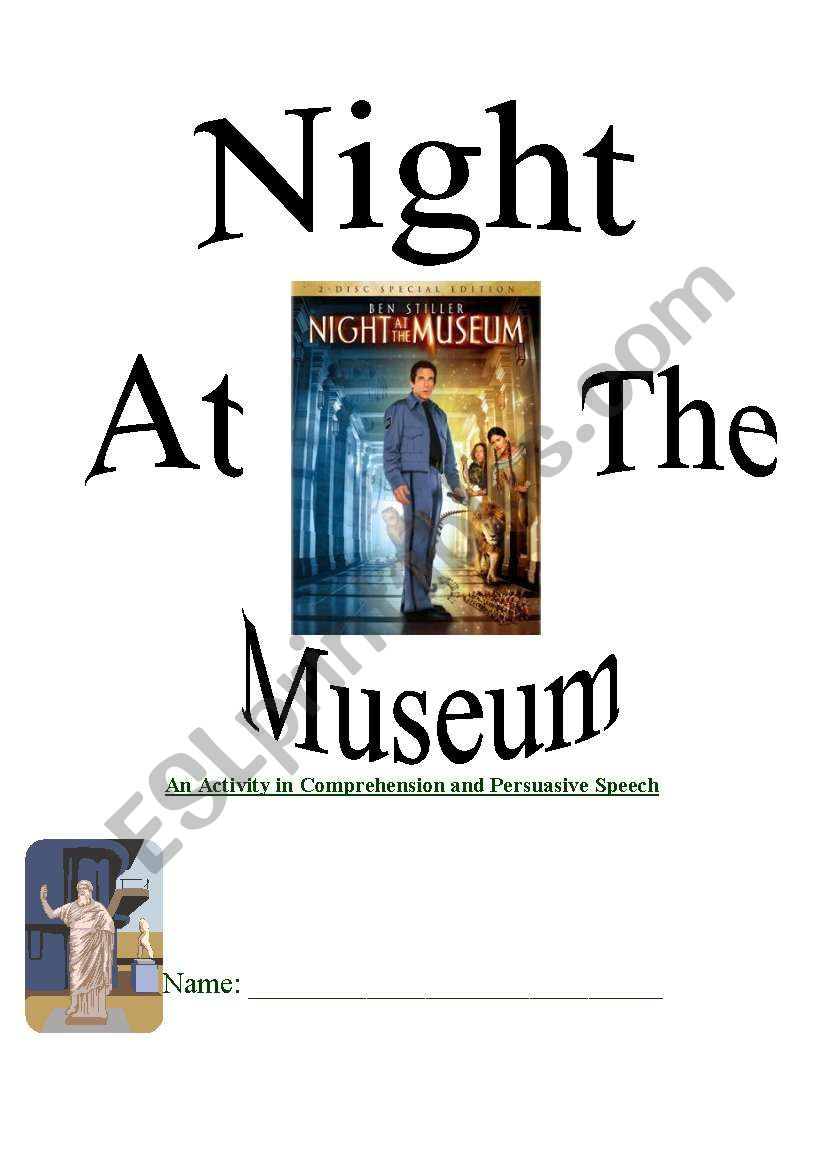 Night At The Museum Comprehension Packet