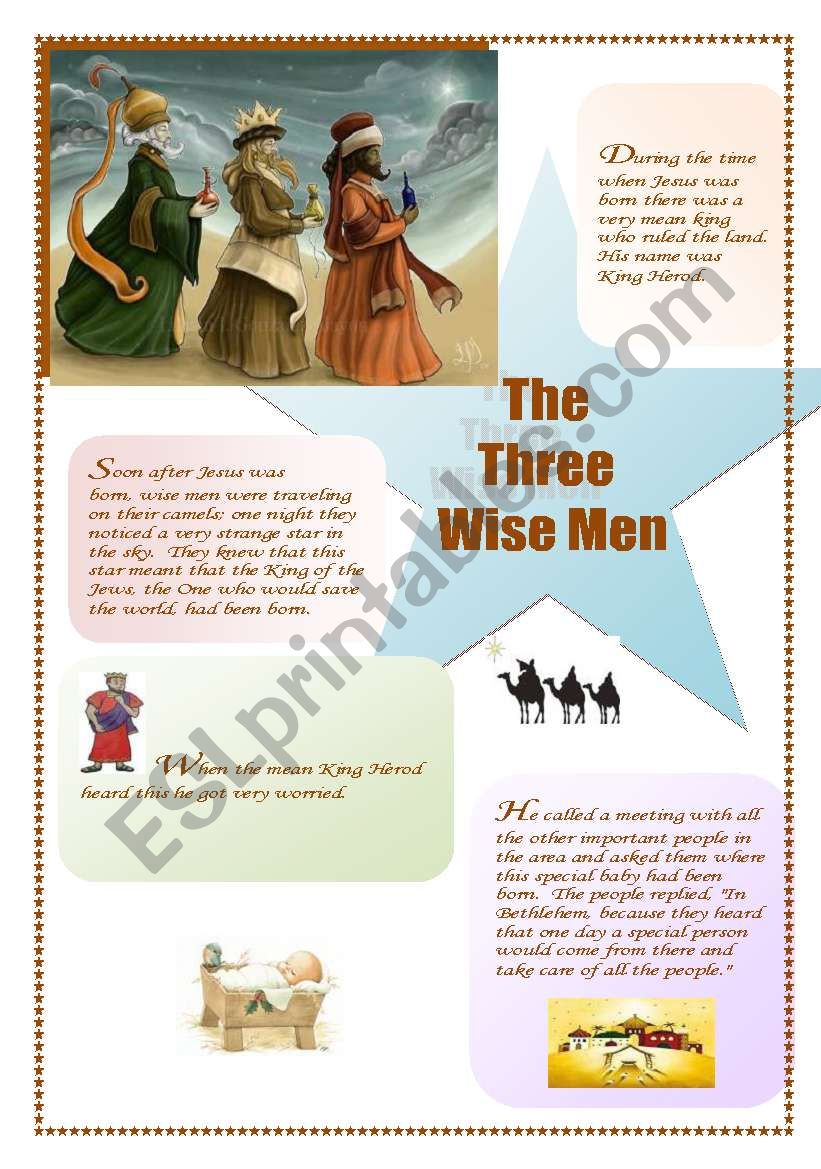 The Three Wise Men : the Story (1/3) (the other ws is about the celebration)